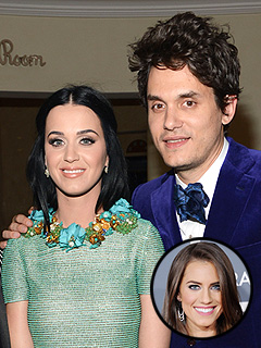 Katy Perry, Allison Williams Party with the Guys After Their Grammy Date | Allison Williams, John Mayer, Katy Perry