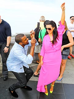 PHOTO: Kim Strikes a Sexy Pose for Kanye in Rio! | Kanye West, Kim Kardashian