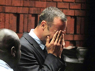Oscar Pistorius Weeps in Court as Prosecutors Seek Murder Charges | Oscar Pistorius