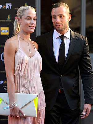 Oscar Pistorius's Girlfriend Reeva Steenkamp Tweets About Valentine's Day