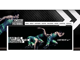 Oscar Pistorius's 'I'm a Bullet' Nike Ad Pulled from His Website