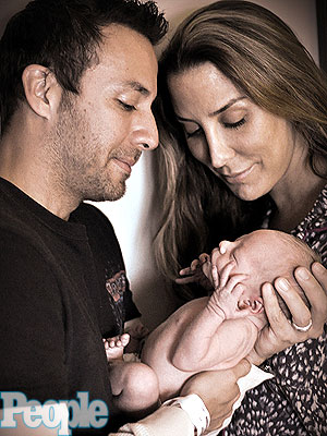 Howie Dorough Son Holden John First Photo