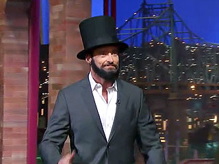 Hugh One-Ups Daniel Day-Lewis with His Singing Abe Lincoln