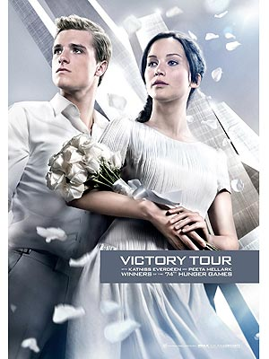 The Hunger Games: Katniss & Peeta&#39;s Victory Tour Look (Photo)