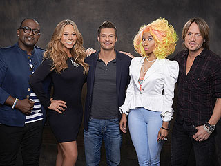 Idol's Top 10 Revealed! | Keith Urban, Mariah Carey, Nicki Minaj, Randy Jackson, Ryan Seacrest