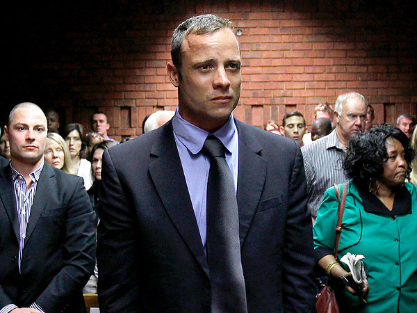 Oscar Pistorius Weeps at Bail Hearing