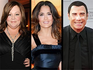What's Melissa McCarthy Doing on Oscar Night? | John Travolta, Melissa McCarthy, Salma Hayek