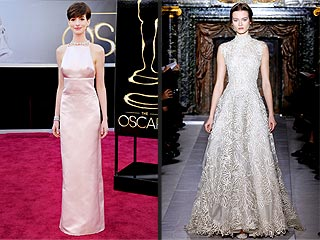 Anne Hathaway Apologizes for Last-Minute Oscar Dress Switch | Anne Hathaway