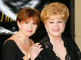 Debbie Reynolds: Carrie Fisher Will Be &#39;Just Fine&#39; After Hospitalization | Carrie Fisher, Debbie Reynolds