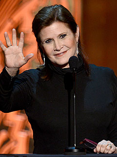Carrie Fisher Describes Her Bipolar Crisis