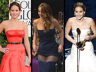 Relive Jennifer Lawrence&#39;s Most Memorable 2013 Awards Season Moments