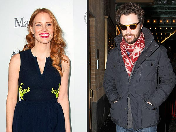 Jessica Chastain Makes First Public Appearance with Boyfriend