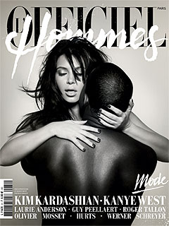Whoa! Kimye Get Hot & Heavy in New Photo Shoot | Kanye West, Kim Kardashian