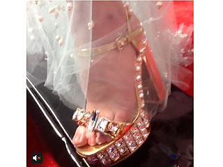 See Which Celebrities Put Their Best Foot Forward at the Grammys