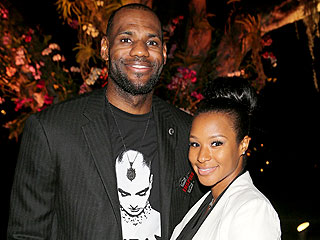 LeBron James Challenges His Fianc&#233; to a Dance-Off | LeBron James