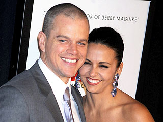 It&#39;s True! Matt & Luciana Damon Planning Secret Second Wedding