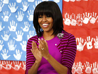 Michelle Obama Visits Giuliana & Bill Rancic&#39;s Restaurant in Chicago | Michelle Obama