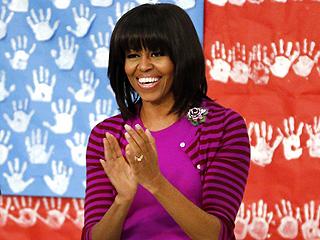 Michelle Obama Visits Giuliana & Bill Rancic's Restaurant in Chicago | Michelle Obama