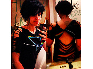 PHOTOS: Paris Jackson Rocks a New Punk Look | Paris Jackson