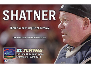 Why William Shatner Is Hanging Out at Fenway Park | William Shatner