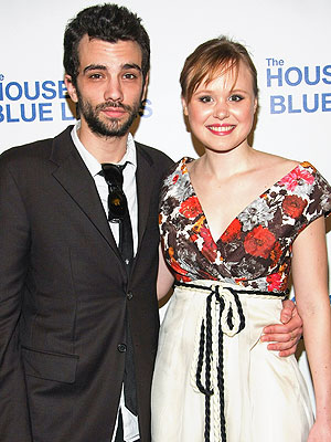 Alison Pill, Jay Baruchel Split