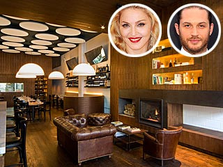 Madonna & Tom Hardy Dine at the Same Italian Place in Brooklyn | Madonna, Tom Hardy