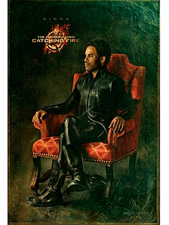 FIRST LOOK: Cinna's Official Capitol Portrait from The Hunger Games