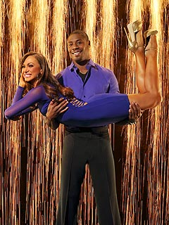 Jacoby Jones's Knee Surgery Delays His DWTS Rehearsals | Jacoby Jones, Karina Smirnoff