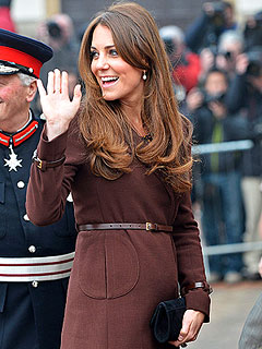 Kate Tells Admirers: I Feel the Baby Moving | Kate Middleton