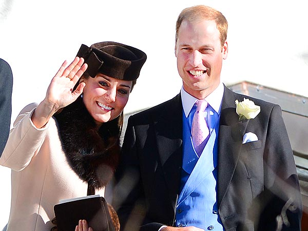 Kate Middleton 'Careful In Heels' at Weekend Wedding