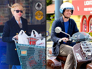 PHOTOS: Jason Segel, Michelle Williams Step Out (Separately) After Split | Jason Segel, Michelle Williams