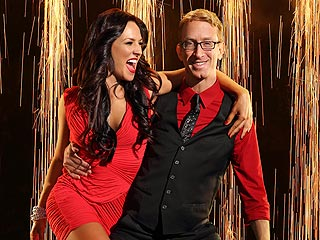 Andy Dick's Dancing Partner Is 'Angry' at the Judges for Being Mean | Andy Dick
