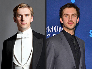 PHOTO: Downton's Matthew Crawley Is Now a Scruffy Brunette! | Dan Stevens