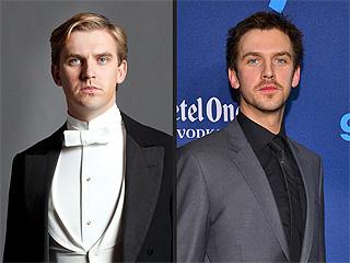 PHOTO: Downton's Matthew Crawley Is Now a Scruffy Brunette! | Dan Stevens