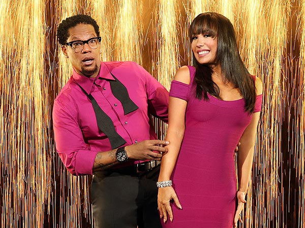 Dancing with the Stars: Cheryl Burke Blogs About D.L. Hughley's First Dance