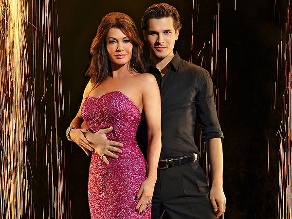 Dancing with the Stars: Lisa Vanderpump Blogs About Her Tough Partner