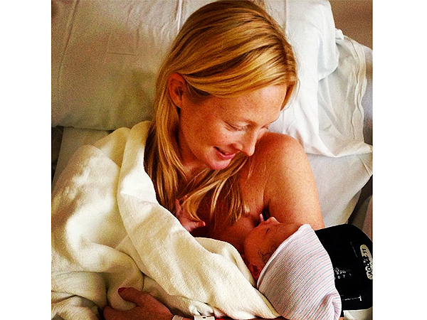 Maggie Rizer Welcomes Son Quinnlann Clancy