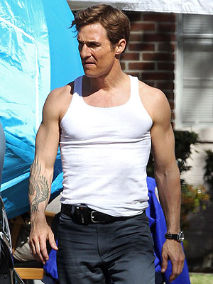 Matthew McConaughey Photos on True Detectives Set in New Orleans