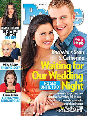 The Bachelor's Sean Lowe & Catherine Giudici Talk Sex Before Marriage