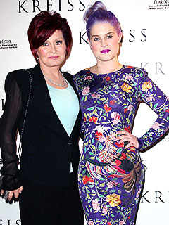 Sharon Osbourne: Kelly Is 'Fine and Naughty' Post-Seizure
