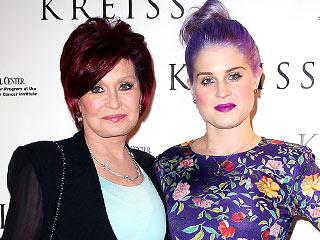 Sharon Osbourne: Kelly Is 'Fine and Naughty' Post-Seizure