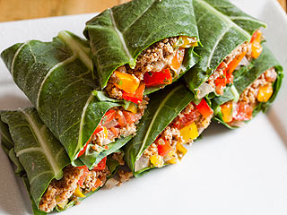 Drew Barrymore's Body-After-Baby Secret: Raw Taco Gorilla Wraps