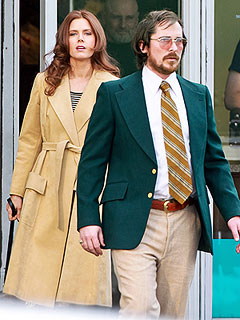 PHOTO: Is That Christian Bale with the Greasy Hair and Chubby Belly? | Amy Adams, Christian Bale