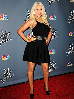 PHOTO: Christina Aguilera Shows Off Slimmed-Down Physique