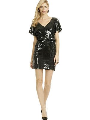 dress 300x400 What We're Buying (or Renting!) Now: Floral Flats and Shimmery Sequins