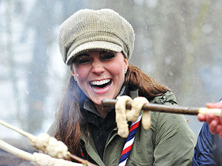 What's Kate Baking Up with Cub Scouts in Snowy Cumbria? | Kate Middleton