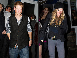 Date Night! Prince Harry Steps Out with Girlfriend Cressida Bonas | Prince Harry
