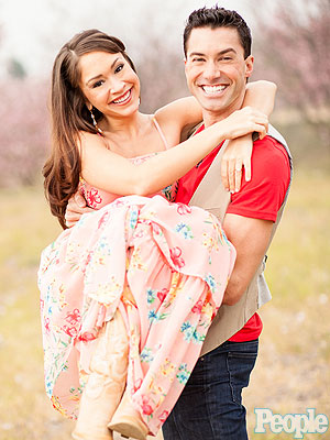 See Diana DeGarmo and Ace Young's Engagement Photos! | Ace Young, Diana DeGarmo