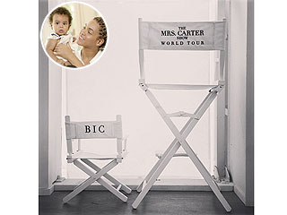 PHOTO: See Blue&#39;s Reserved Seat for Beyonc&#233;&#39;s Tour