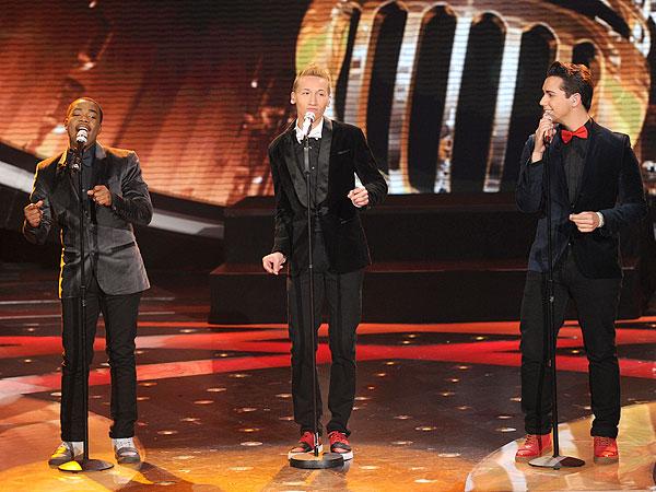 American Idol: Burnell Taylor, Devin Velez & Lazaro Arbos Talk Motown Mess